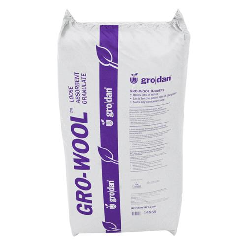 GRODAN ABSORBANT STONEWOOL GRANULATE 45 LBS BAG 713090