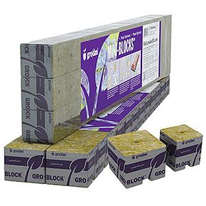GRODAN STONEWOOL DELTA STARTER MINI-BLOCKS 713040
