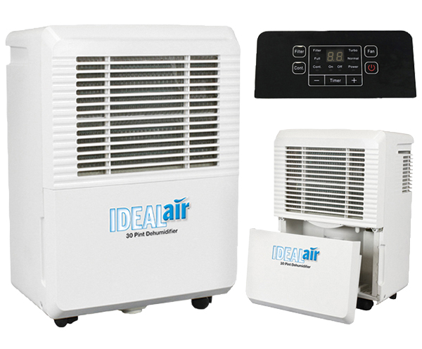 IDEAL-AIR DEHUMIDIFIER 30, 50, 70 PINT 700830