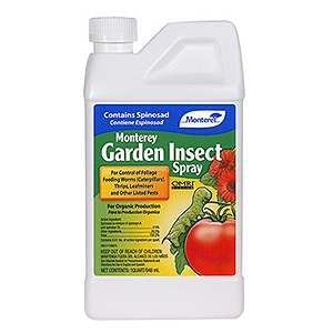 MONTEREY GARDEN INSECT SPRAY WITH SPINOSAD #704606