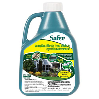 SAFER CATERPILLAR KILLER WITH B.T. CONCENTRATE - PINT 704155